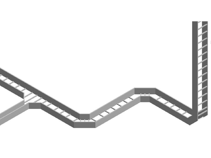 梯级式电缆桥架-004